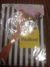 👠🌹Vintage Rare Wolford size 10.5 Roma Fully Fashioned nylon Sheer Stockings 👠