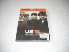 U 2 - 18 / THE SINGLES  - JAPAN CD/DVD  BOOK corner damaged sealed