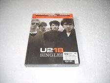U 2 - 18 / THE SINGLES  - JAPAN CD/DVD  BOOK corner damaged sealed