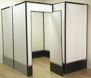 Large Trade Show Booth with door
