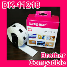1 roll of Compatible Brother DK-11218 Round Label Diameter: 24mm