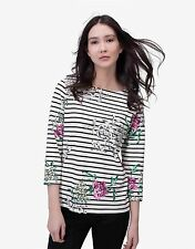 Joules 3/4 Sleeve Striped Tops & Shirts for Women