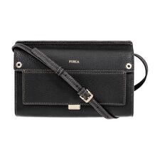 Furla Like Ladies Mini Black Onyx Leather Crossbody 903541