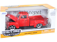 JADA BIGTIME 96864 1953 53 CHEVY 3100 PICK UP TRUCK 1/24 DIECAST RED