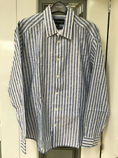 "Ex M&S Autograph Luxury Fabric Men Shirt, Long Sleeve, 15 1/2"", 100% Cotton"