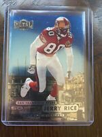1998 Metal Universe Jerry Rice #1 Iconic Football Card Design!