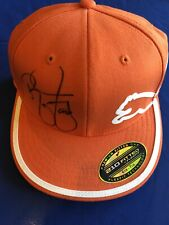 NWT Rickie Fowler signed Puma Logo Golf Hat PGA Masters Auto US Open Winged Foot