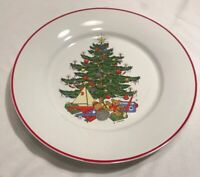"""Cuthbertson American Christmas Tree Dinner Plates - Set of 4 - 10 1/2"""""""