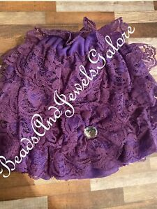 Baby Girls Lacy Bonnet With Flower stretchy bonnet baby photo prop lace hat cute