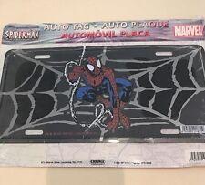 Original 2002 Spider-Man Marvel Movie Car Licence Plate Wall Plaque SpiderMan