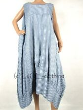 Oversize Striped Plus Size Dresses for Women