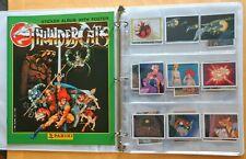 1986 Thundercats STICKER ALBUM w/POSTER (UNUSED) MINT & 48 STICKERS in binder