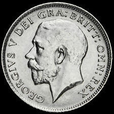 More details for 1914 george v silver sixpence, a/unc