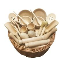 Treasure Basket - Wooden Pairs - Educational Montessori Wooden Toy EYFS