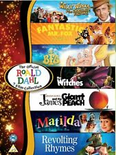 The Official Roald Dahl 7 Film Collection DVD Boxset Now Available 2019