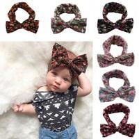 baby bowknot kleinkind mädchen kinder bündchen knoten haar - band turban