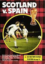 WM-Qualifikation 14.11.1984 Schottland - Spanien