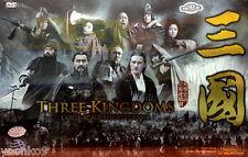24 DVD Chinese Drama Three Kingdoms 三国 (2010) TV 1-95 End _English Subtitle_ PAL
