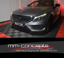 Cup Spoilerlippe SCHWARZ Mercedes C-Klasse W205 C205 AMG Line Spoilerschwert