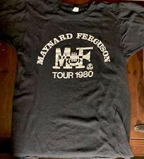 Rare Vintage 1980 Maynard Ferguson Tour T-shirt Large