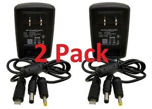 2pk 5V 2.5A Raspberry Pi & Orange Pi Power Supply 5.5x2.5mm 4.0x1.7mm Micro USB