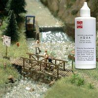 Busch 7589 Aqua Model Water for Wargames Dioramas Scenics Model Rail