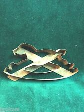 Early Handmade Tin Cookie Cutter - Rocking Horse
