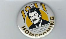 VINTAGE Iowa Hawkeyes 1988 Homecoming vs. Wisconsin Button, Hayden Fry, LOOK!!