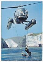 -Cartolina Carabinieri, cooperazione tra elicotteri e Carabinieri subacquei