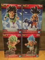 Banpresto Dragon Ball Super Broly World Collectable Diorama Figure Set Vol.4 WCD