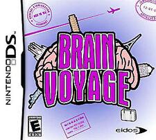 Brain Voyage COMPLETE Nintendo DS DSI XL LITE 3 3DS 2 2DS **FREE SHIPPING!!