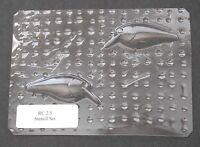 Custom Lucky Cast Stencil,Clear PETG, blank, RC 2.5