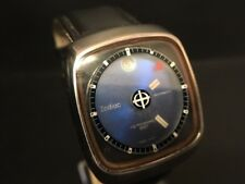 Vintage Zodiac Astrographic sst Mystery Dial Automatic Mens Watch