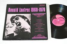 DONALD LAUTREC 1960-1970 LP 1971 Neptune Canada NEPS.6007 VG/VG Pop Chanson