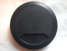 DESK TOP TIDY MANAGEMENT OUTLET 80mm  BLACK  80mm DESK CABLE TIDIES