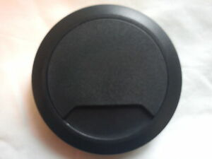 DESK TOP TIDY MANAGEMENT OUTLET 80mm  BLACK  80mm DESK CABLE TIDIES X2
