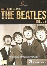 MUSIC LEGENDS MASTERCUTS LEGENDS THE BEATLES TRILOGY - 3 DVD BOX SET