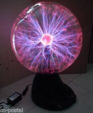 "16"" Plasma Ball Sphere Globe Magic Lightning Lamp Light Club Bar Sound Activated"