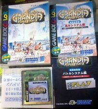 GRANDIA PARALLEL TRIPPERS JAPAN IMPORT COMPLETE GAME BOY COLOR GBC ENVIO URGENTE