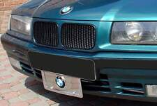METAL MESH BLACK GRILL GRILLE for BMW 3 SERIES E36 318i 318is 325i 325is 328i