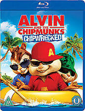 Alvin And The Chipmunks - Chipwrecked (Blu-ray, 2012) brand new