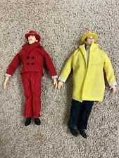 """Vintage Dick Tracy And Big Boy Caprice 10"""" Fabric Doll/Figure Applause Disney."""
