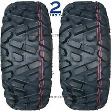 TWO 24x8-12 24/8-12 24x8.00-12 24/8.00-12 24x800-12 24-800-12 ATV TIRES P350