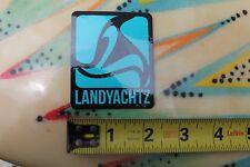 LANDYACHTZ Land Yachts Skateboards Longboard Cruiser Skateboarding STICKER