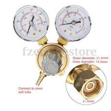 0-30MPa Argon CO2 Reductor Regulador De Presión Válvula Calibrador Flujo Mig Tig