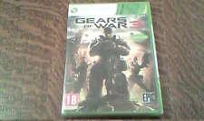 jeu xbox 360 gears of war 3 NEUF