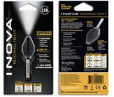 Nite Ize INOVA MICROLIGHT White LED Multi Function Micro Flashlight Keyring
