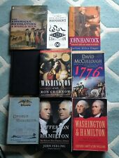 VARIOUS AMERICAN WAR OF INDEPENDENCE BOOKS