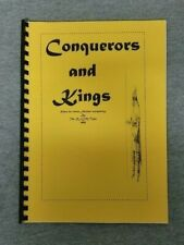 Conquerors and Kings: Rules for 15mm Ancient wargaming by The RFCM Team 1999