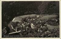 Treseburg Thale Sachsen-Anhalt Harz AK ~1930 Blick vom Weißen Hirsch Bodetal Tal